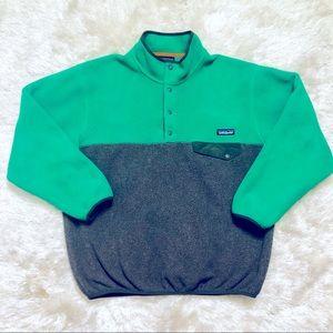 Patagonia Synchilla Snap Button Fleece Jacket